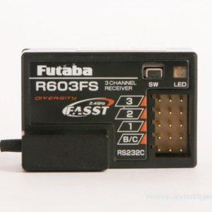 FUTABA Récepteur  3 voies R603FS 2.4Ghz FASST (AV01000650)