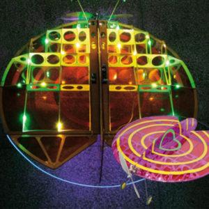 Disque lumineux volant DISCO (BMI11655)
