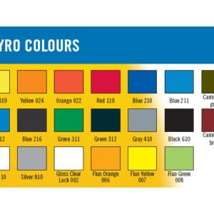 Peinture BLEU NUIT 150ml RC Styro Colours (A2P200-216)
