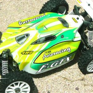 BUGGY tout-terrain Brushless E-GTX RTR (AV46008400) 1/8