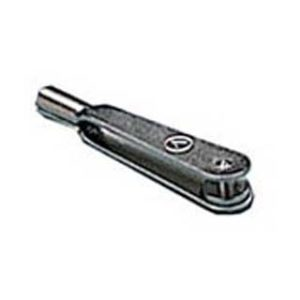Chape 2mm pour tige filetée métal chromé (9440007)