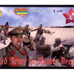 Armée rouge en habit d'hiver 1/72 Strelets (MHD9800M044) PERSONNAGES