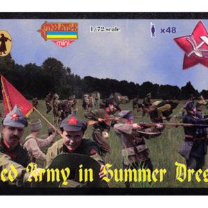 Armée rouge en habit d'été 1/72 Strelets (MHD9800M045) PERSONNAGES