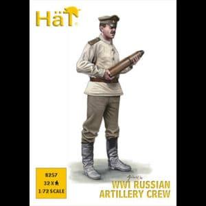 Artilleurs Russes WWI (hat988257) 1/72 PERSONNAGES