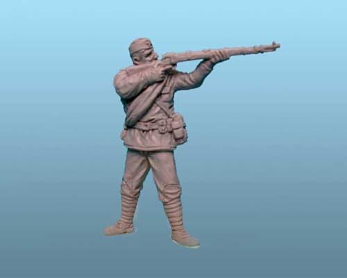 Infanterie Russe (10 pièces) WWII 1/144 (PEG0853)