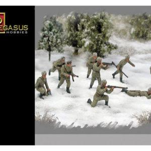 Infanterie Russe en uniformes d'hiver WWII 1/72 (PEG7269)
