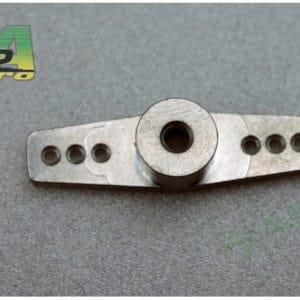 Bras de servo double aluminium axe 3mm (A2P4558) Servos accessoires