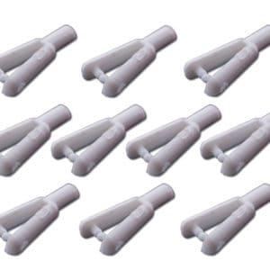 Chape 2mm nylon par 10 (A2P6020) Chapes