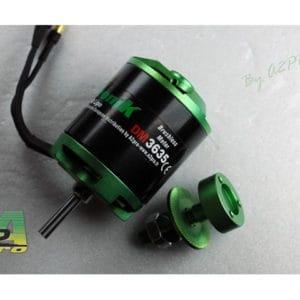 Moteur (345 g.) Brushless Pro-Tronik DM3635 KV470 (A2P73636)