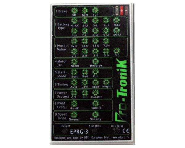 zCarte de programmation Pro-Tronik EPRG-3 (A2P78301)