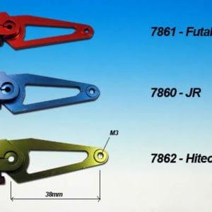 Bras de servo alu 3D Futaba (A2P7861)