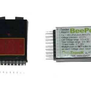Testeur et Buzzer BeePo 8S LiPo (A2P7908)