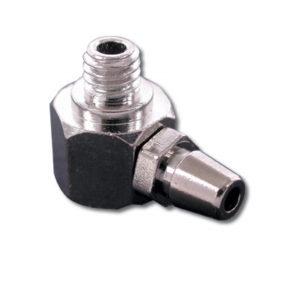 Prise de pressurisation laiton en 'L' 3mm – par 4 (A2P3134)