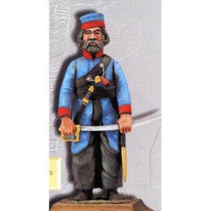 Figurine Cosaque de l'Oural – Russie 1812 (A8092) 1/32
