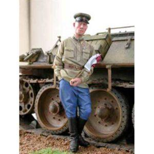 Officier de blindé soviétique 1943 (ALP35004) 1/35
