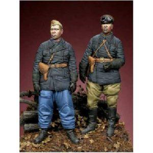 Set de 2 tankistes soviétiques 1942 (ALP35041) 1/35