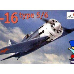 Polikarpov I-16 type 5/6 (AM72123) 1/72