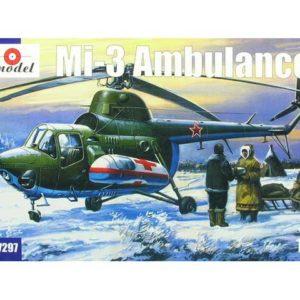 Hélicoptère Mil Mi-3 (AM7297) 1/72