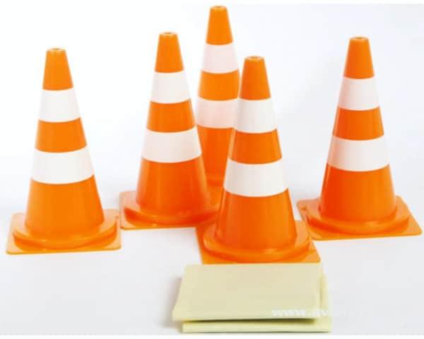 Pylones de piste (5) orange (AVSE930200)