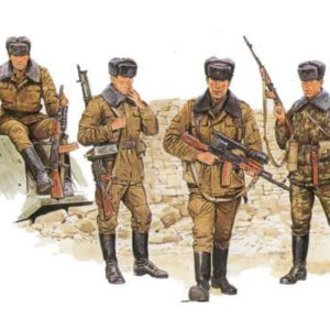 Infanterie motorisée soviétique (dragon-3008) 1/35