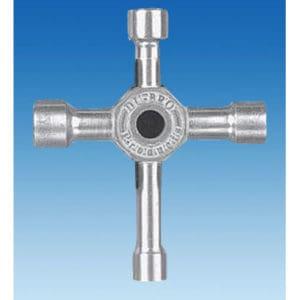 Clé en croix pour écrous 8, 10 ,11 et 12mm Dubro (SF133701)