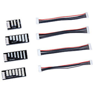Adaptateur Balancer Graupner PQ/TP/XH (G3065.7SET) Connecteurs pour balancer