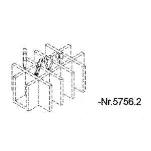 Caisse de terrain GRAUPNER : compartiment outils (G5756.2)
