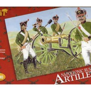 Artillerie Russe Époque Napoléonienne (hat8010) 1/72 PERSONNAGES