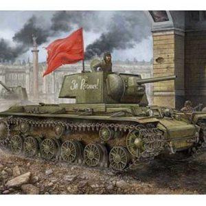 Char lourd soviétique KV1 modèle 1942 (HB-84812) 1/48