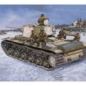 Char lourd soviétique KV1 modèle 1942 (HB-84813) 1/48