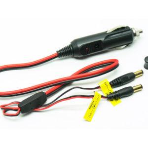 Adaptateur allume-cigare pour chargeur JR-FUTABA (CAR-FU-JR-TX) Cables de charge