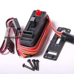 Cordon Interrupteur récepteur +charge et voyant LED (HB4309)