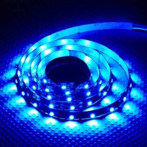 Éclairage haute densité LED flexible BLEU 1m (TR-STRIP-BL)