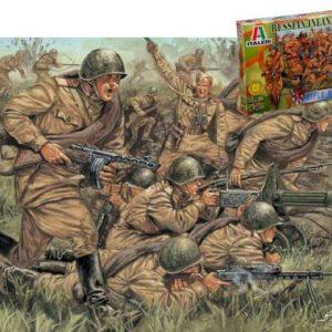 Infanterie Russe 2è Guerre mondiale (ita6057) 1/72