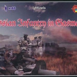 Infanterie Russe avec masque à gaz WWI – 1/72 (MHD9800M058)