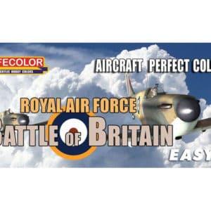 Peinture coffret Easy 3 RAF Bataille d'Angleterre (MHDLIFEMS06)
