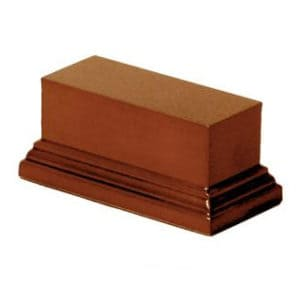 Socle S131 Rectangulaire 4x10x5 noisette (PA-S131)