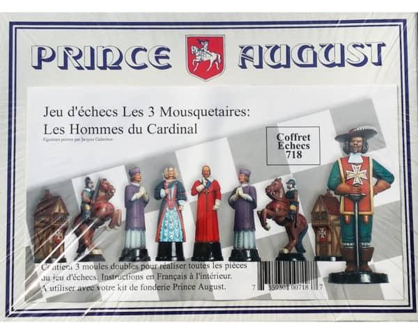 718- Moules Echecs les 3 Mousquetaires: H. du Cardinal (PA718)