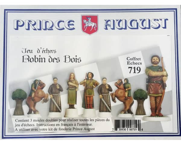 719- Moules Echecs Robin des Bois (PA719)