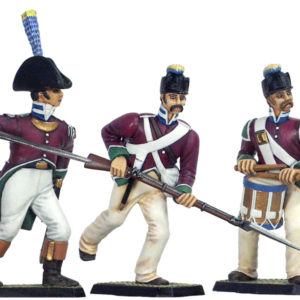80-19- Moule Infanterie de ligne Fr. campagne d'Egypte (PA80-19)