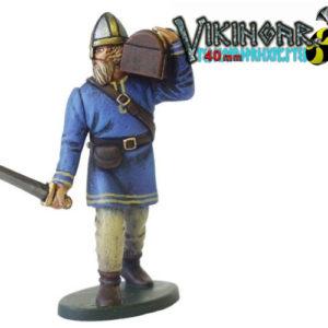 Moule Les Vikings (PA964) : Viking et trésor – 40 mm