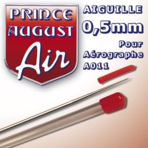 Aiguille de 0,5mm pour Aérographe Prince-August A011 (PAAA005)