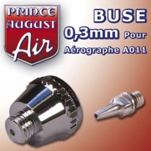 Buse de 0,3mm pour Aérographe Prince-August A011 (PAAA013)