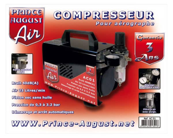 AC01 Compresseur Prince August (PAAC01)