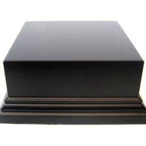 Socle S151 Rectangulaire 16,5×11,5×4 noir (PA-S151)