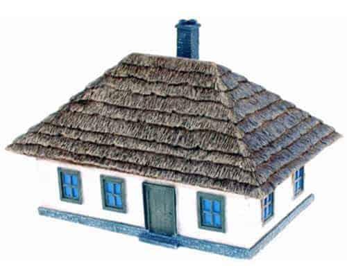 Grande maison ukrainienne 1/72 (MHDPEG7802)