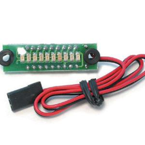 Contrôleur de tension accus RX embarqué 4,8V (MRCRC815-6)