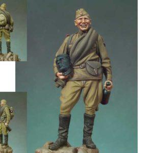 Figurine Fantassin russe 1945 peinte à la main (ANDP.S5-F46)