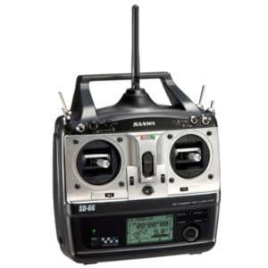 SANWA Radio  6 voies SD-6G 2.4 GHz FHSS-1 (SF090601)