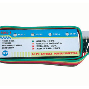 Contrôleur de batterie Li-Po embarqué 4S 14,8V